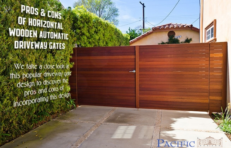 News pros and cons of horizontal wood driveway gates solutioingenieria Image collections