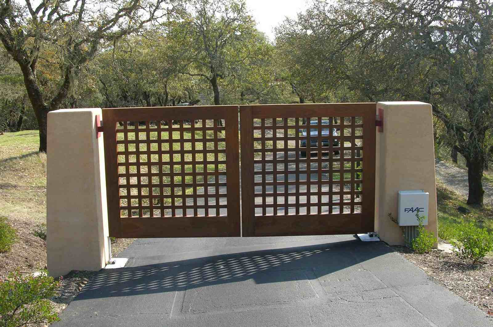 gates outdoor wood gates design outdoor wood gates design home designs