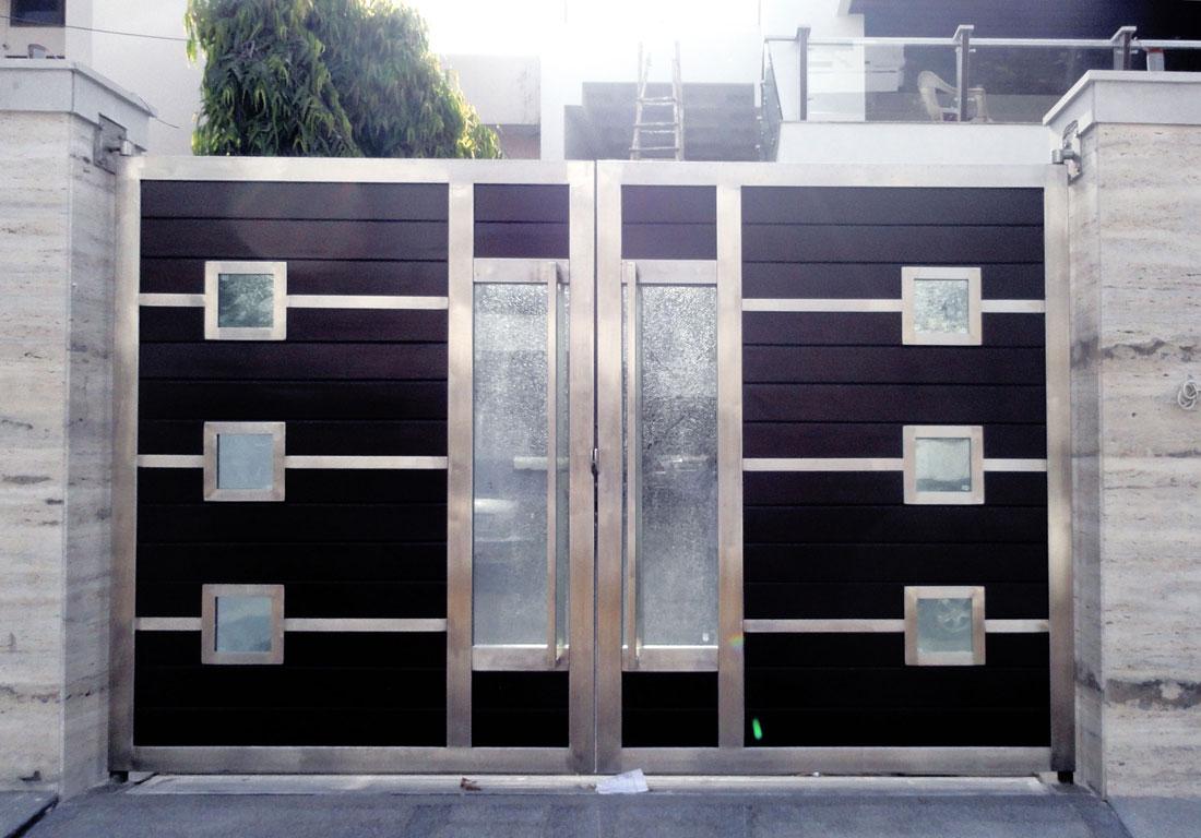 Stainless steel main door design 5133799 - spojivach.info