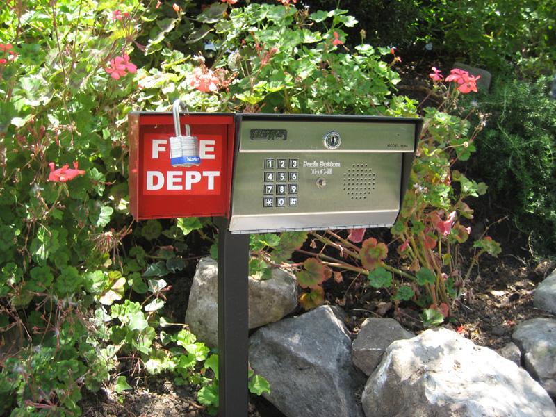 Telephone Entry System,