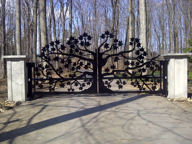 extreme wrought iron fence